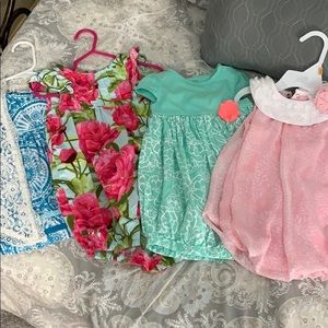 Other - Baby Girl Bundle of Dresses/Outfits